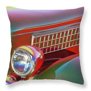 A Colorful Classic Throw Pillow