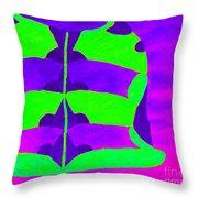 A Colourful  Vase Throw Pillow