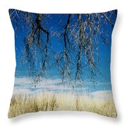 A Comfortable Place Throw Pillow