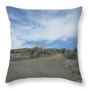 A Concho Ranch Throw Pillow