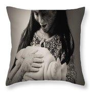 A Confortadora - Work By Patricia Piccnini Throw Pillow