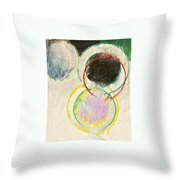 A Connotation Of A Veritable Shifting In The Resolution Of The Vortex  --start-- Throw Pillow