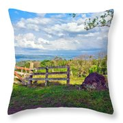 A Costa Rica View Throw Pillow