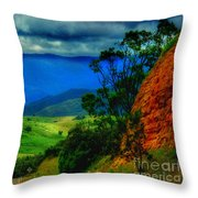 A Country Mile Throw Pillow