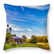 A Country Place 3 Throw Pillow