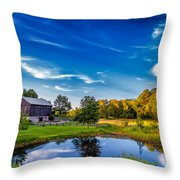 A Country Place Throw Pillow