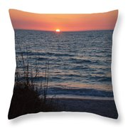 A Country Sunset Throw Pillow