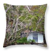 A Cozy Spot On The Apalachicola River Throw Pillow