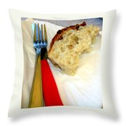 A Crust Of Bread Throw Pillow