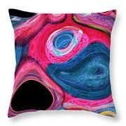 A Cry In The Night Throw Pillow