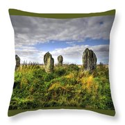 Song Of The Stones Throw Pillow