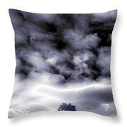 A Dark Heaven's Storm Throw Pillow