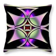 A Dark Splash Of Color 41 Throw Pillow