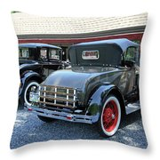 A Day At The Antique Store Throw Pillow