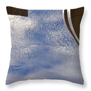 A Day At The Getty Throw Pillow