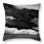 A Day Of Fury Throw Pillow