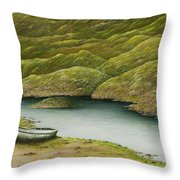 A Day Of Leisure Throw Pillow