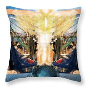 A Day Of Prayer For The Gulf Throw Pillow