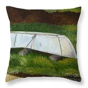 A Day Off In Dingle  Throw Pillow