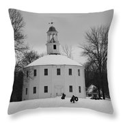 A Day On The Hill Throw Pillow