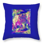 A Day To Meditate Throw Pillow