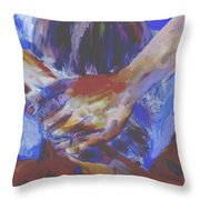 A Day To Relax Throw Pillow