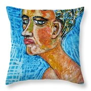 A Dear Lady Friend  Throw Pillow