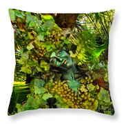 A Devine Lady Throw Pillow