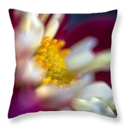 A Different Kind Of Dahlia Throw Pillow