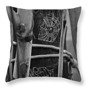 A Different Kind Of Net Throw Pillow