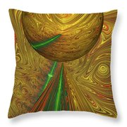 A Different Planet Throw Pillow