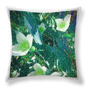 A Different Shade Of Blue Throw Pillow