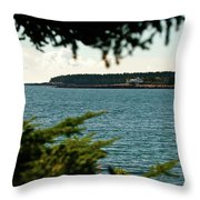 A Distant Light Throw Pillow