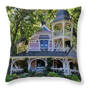 A Doll House Throw Pillow