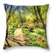 A Dose Of Spring Throw Pillow