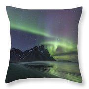 A Dream As Real As Darkness Throw Pillow
