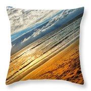 A Dream At The Beach Throw Pillow