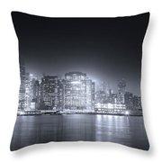 A Dream Of Manhattan Throw Pillow