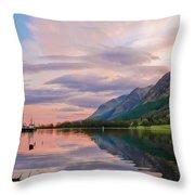 A Dreams Reflection Throw Pillow