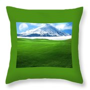 A Dreamy World Throw Pillow