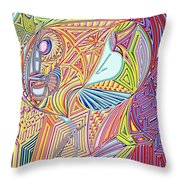 A Drop In The Sea Of Time Throw Pillow