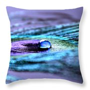 A Drop Of Royalty Throw Pillow