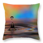 A Drop Throw Pillow