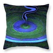A Druids Vision Throw Pillow by Wayne King