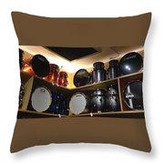 A Drummer's Dream Throw Pillow