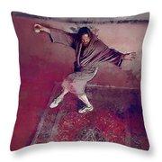 A Dude-like Zen - The Big Lebowksi Throw Pillow