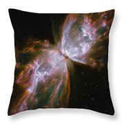 A Dying Star In The Center Throw Pillow