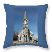 A Fading Angel Throw Pillow