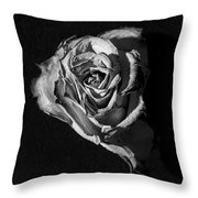 A Fading Rose Throw Pillow
