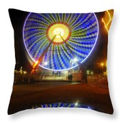 A Fair Reflection Throw Pillow